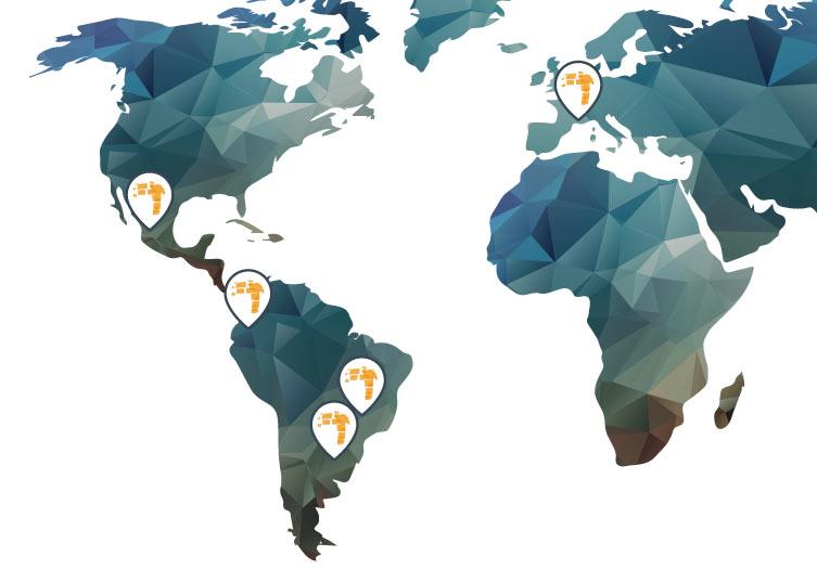 locais onde a Turismo 360 Consultoria atuou